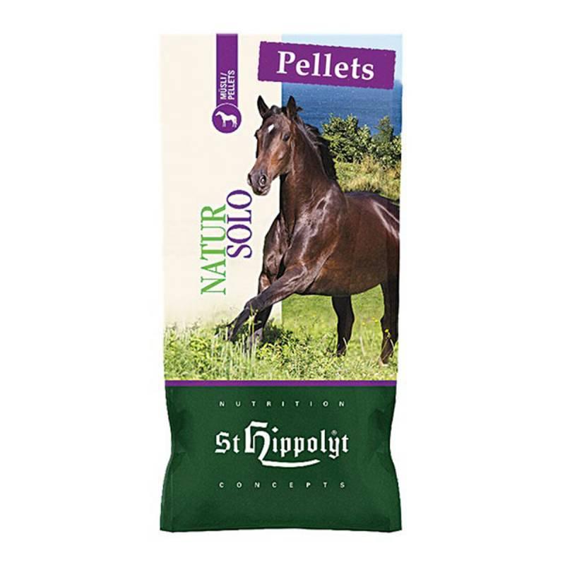 St. Hippolyt NaturPellets SOLO - 25 kg