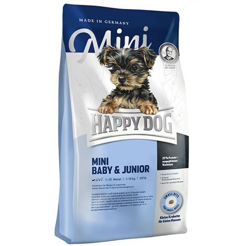 Happy Dog Mini baby og Junior