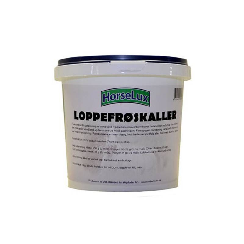 HorseLux Loppefrøskaller 1kg