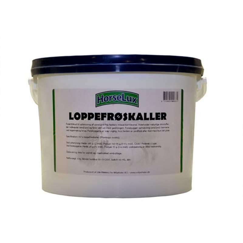 HorseLux Loppefrøskaller  3kg