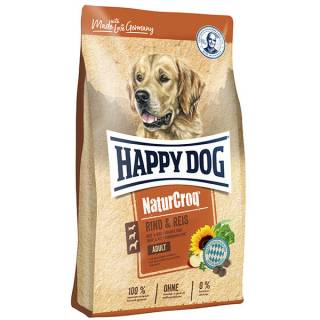 Happy Dog NaturCroq Rind & Reis
