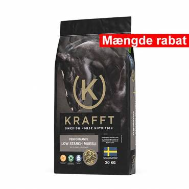 Krafft Performance Low Starch Muesli