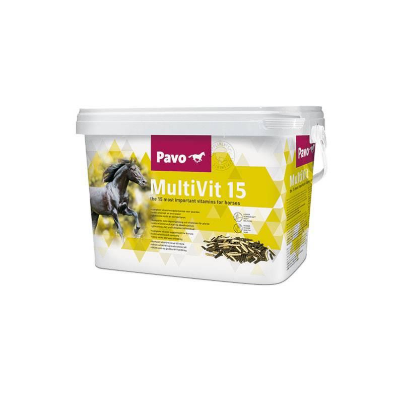 Pavo Multivit15 - 3 kg.