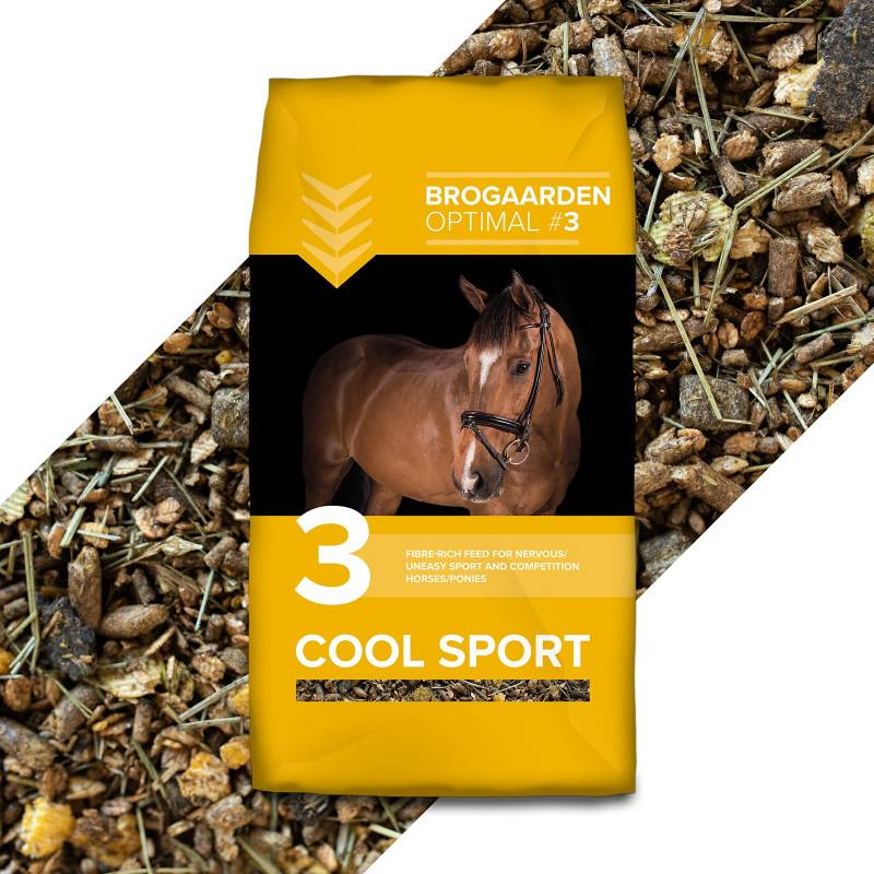 Brogaarden Optimal 3 - Cool Sport, 15 kg