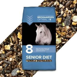 Brogaarden Optimal 8 Senior Diet