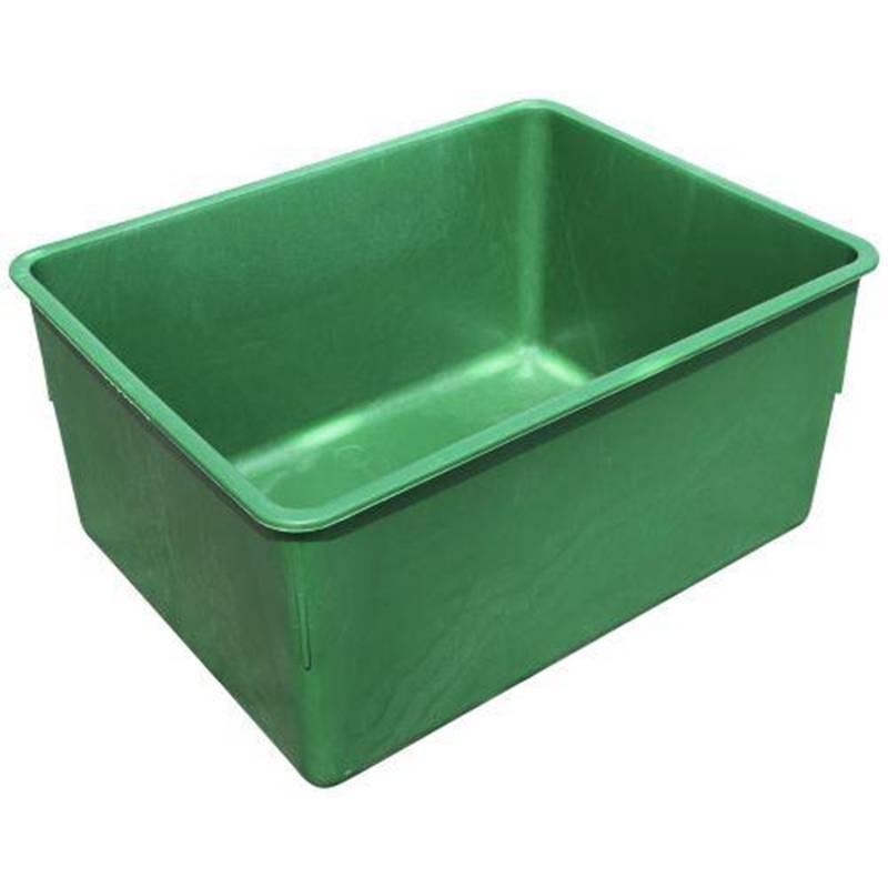 Vandtrug  grøn plast 200 l