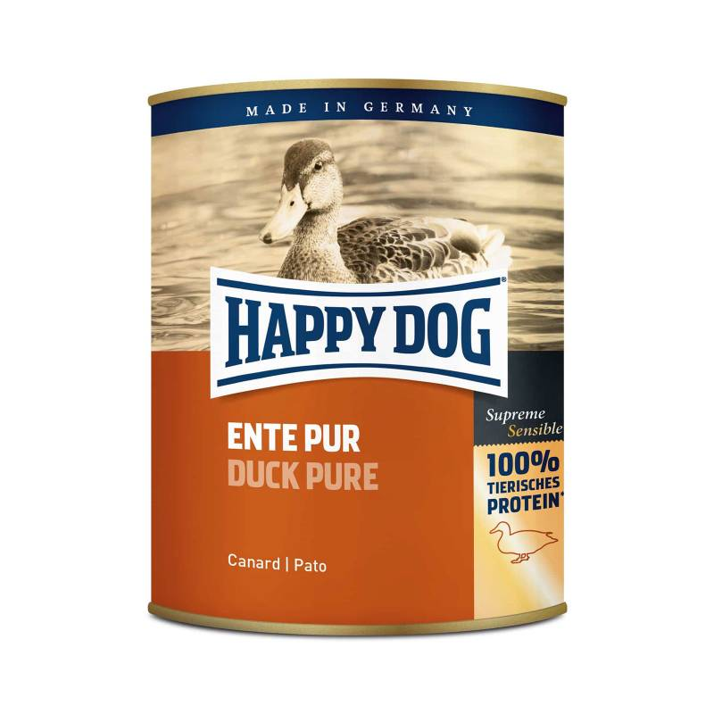 Happy Dog Ente Pur (And)