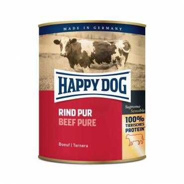 Happy Dog Rind Pur (Oksekød)