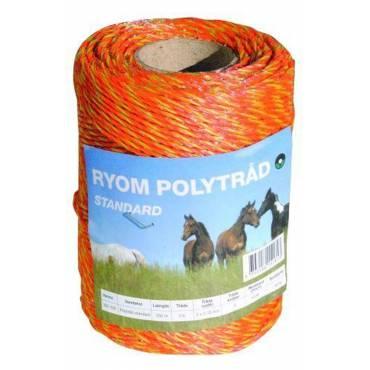 Polytråd orange 250 meter