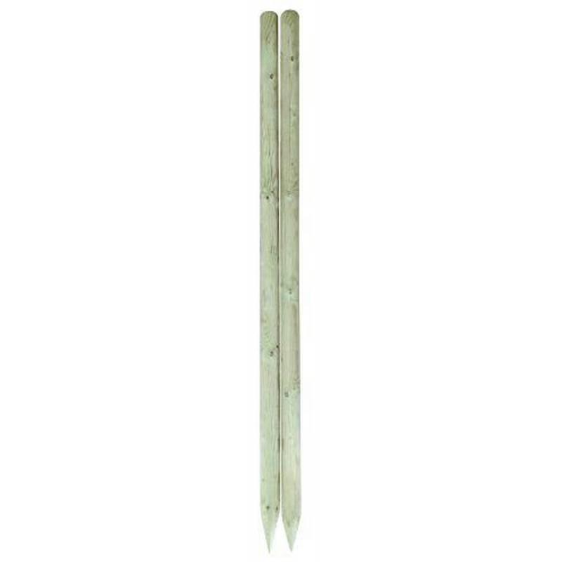 Pæl trykimpræneret (180)