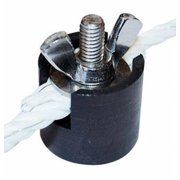 Rebsamler med vingeskrue 5-8 mm - 10 stk